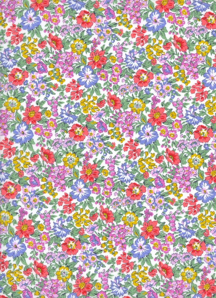 Honeydew C - Liberty Tana Lawn SS20 - From London with Love - Liberty of London