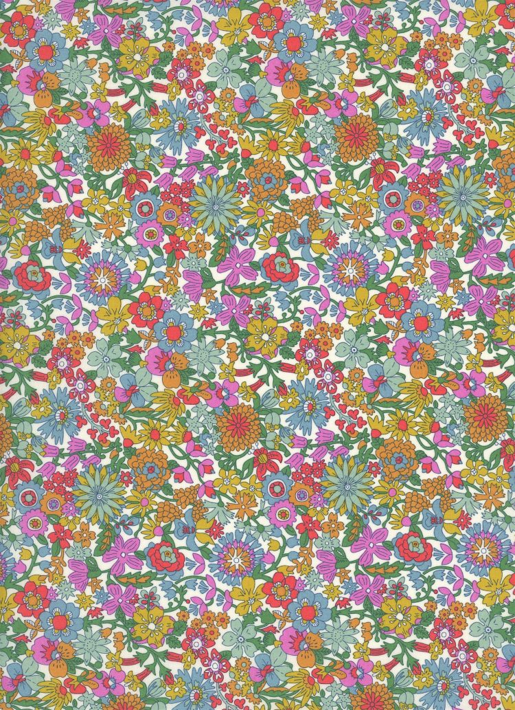 June Blossom B - Liberty Tana Lawn SS20 - From London with Love - Liberty of London