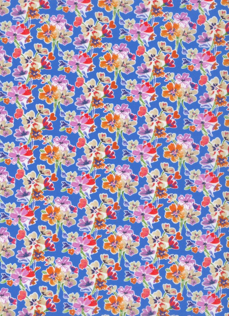 Lauder B - Liberty Tana Lawn SS20 - From London with Love - Liberty of London