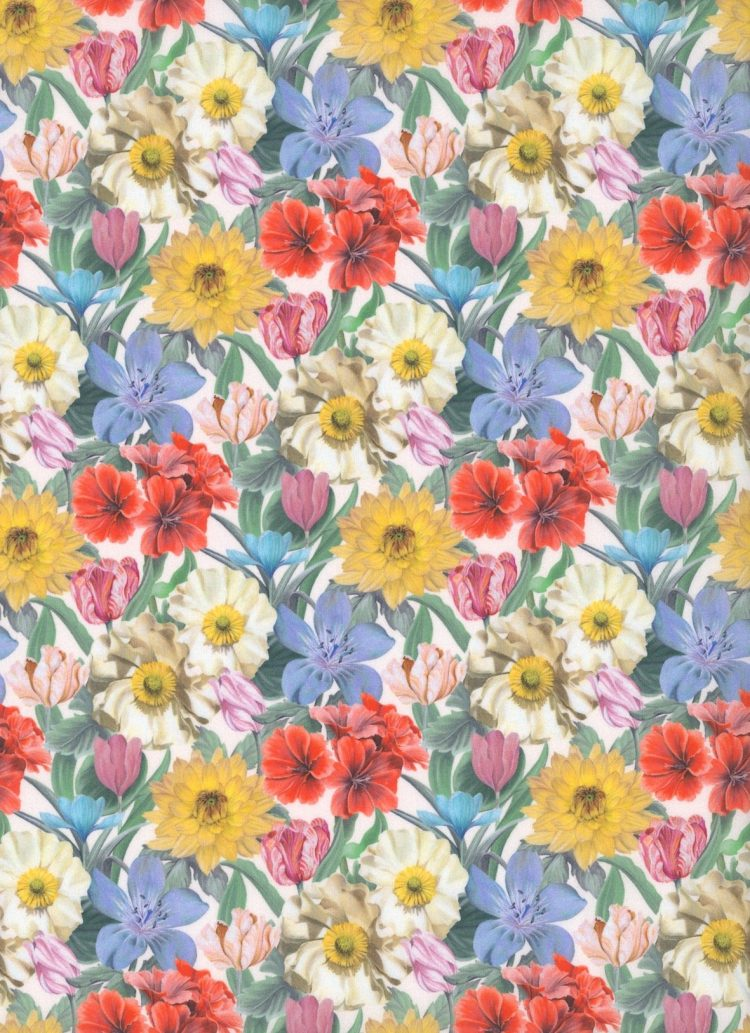 Melody Blooms 19A - Liberty Tana Lawn Classic Collection - Liberty of London