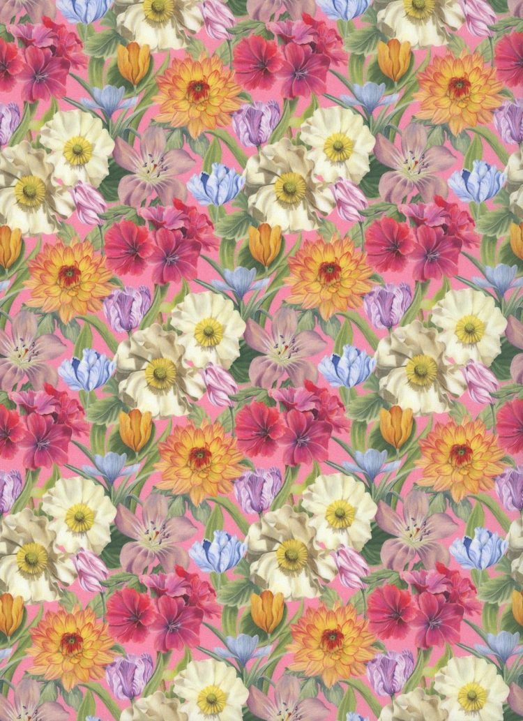 Melody Blooms 19B - Liberty Tana Lawn Classic Collection - Liberty of London