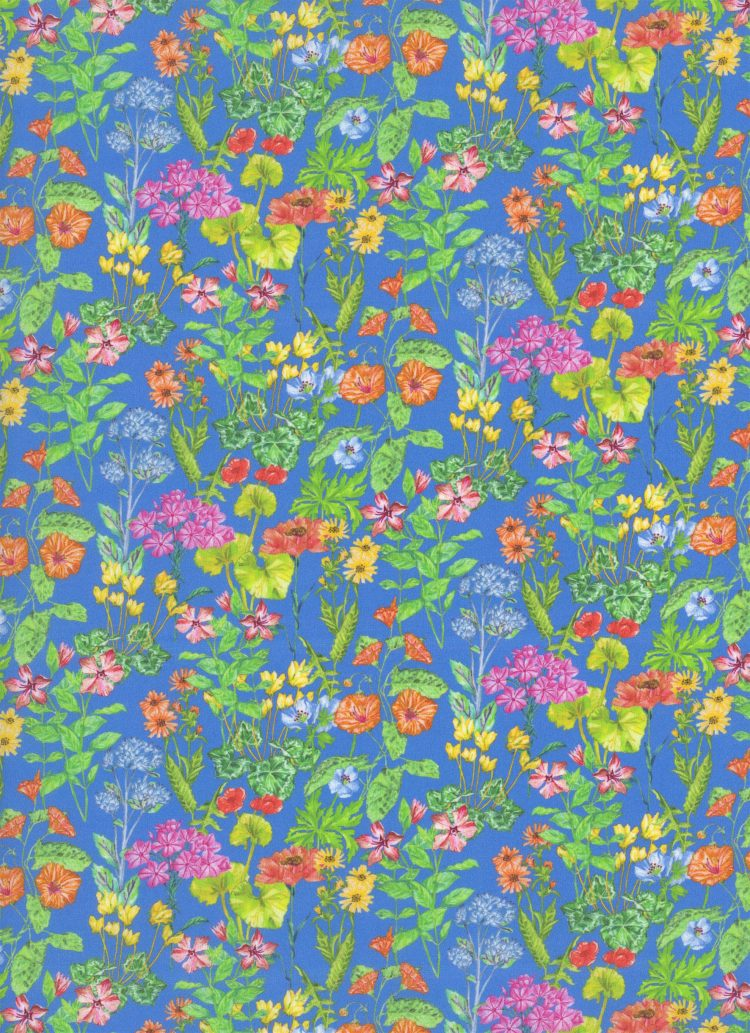 Poets Meadow B - Liberty Tana Lawn SS20 - From London with Love - Liberty of London