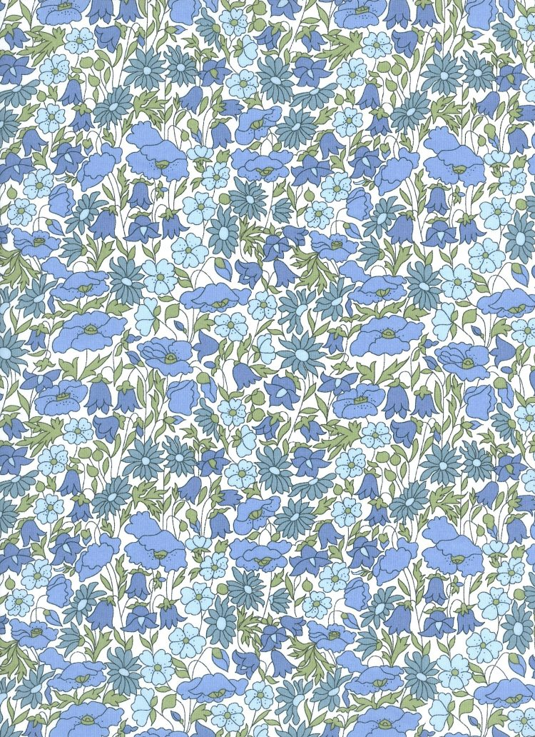 Poppy and Daisy 19B - Liberty Tana Lawn Classic Collection 40th Anniversary - Liberty of London