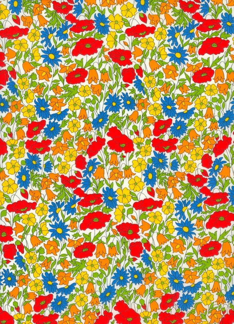 Poppy and Daisy M - Liberty Tana Lawn Classic Collection - Liberty of London