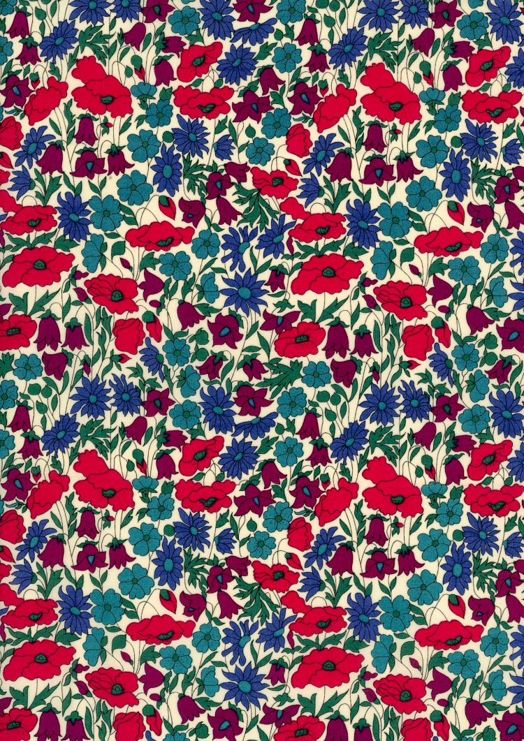 Poppy and Daisy N - Liberty Tana Lawn Classic Collection - Liberty of London