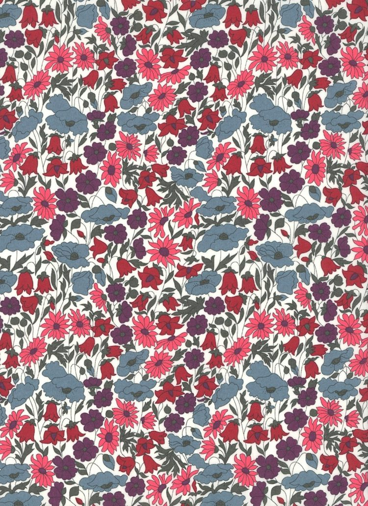 Poppy and Daisy P - Liberty Tana Lawn Classic Collection - Liberty of London