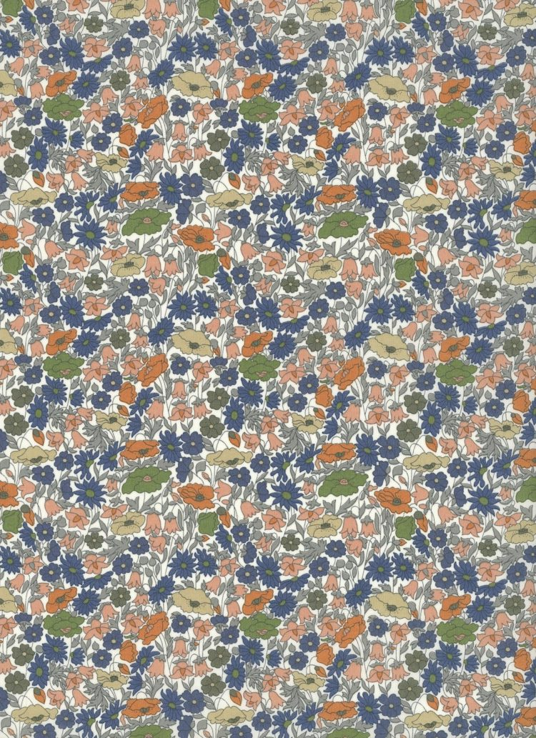 Poppy Forest B - Liberty Tana Lawn Classic Collection - Liberty of London