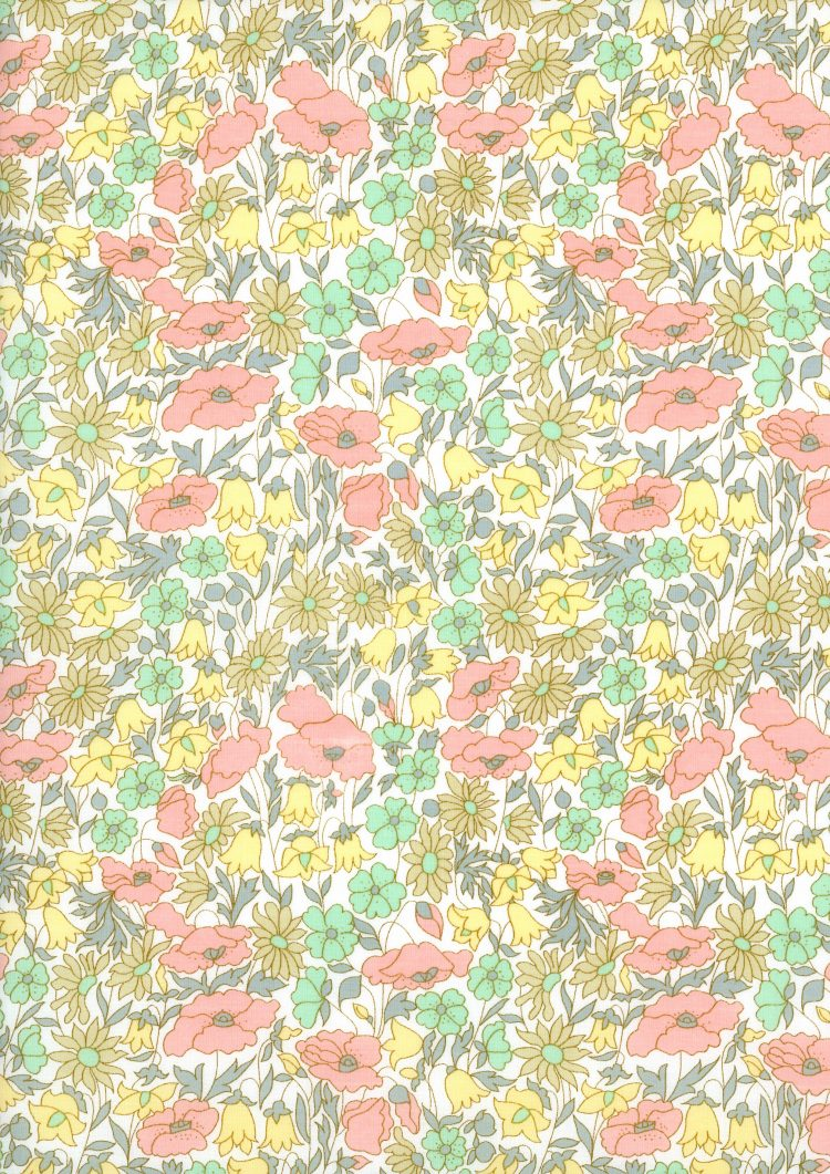 Poppy and Daisy B - Liberty Tana Lawn Classic Collection - Liberty of London
