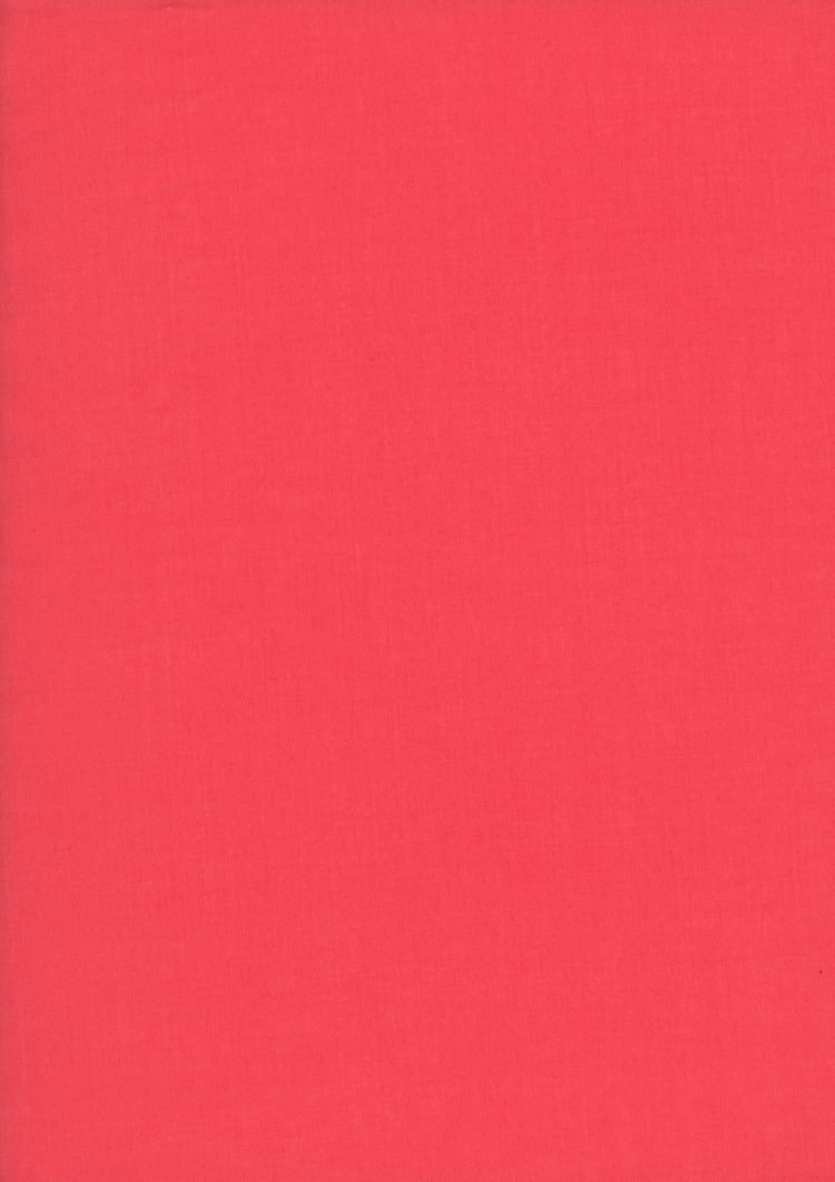 Red - Liberty Tana Lawn Solids - Liberty of London
