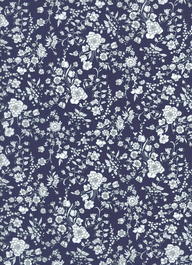 Summer Blooms 19A - Liberty Tana Lawn Classics Collection - Liberty of London
