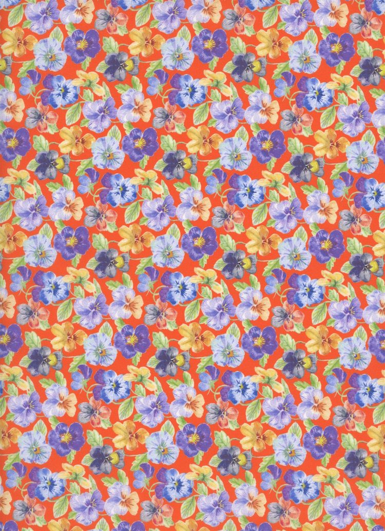 Think of Me B - Liberty Tana Lawn SS20 - From London with Love - Liberty of London
