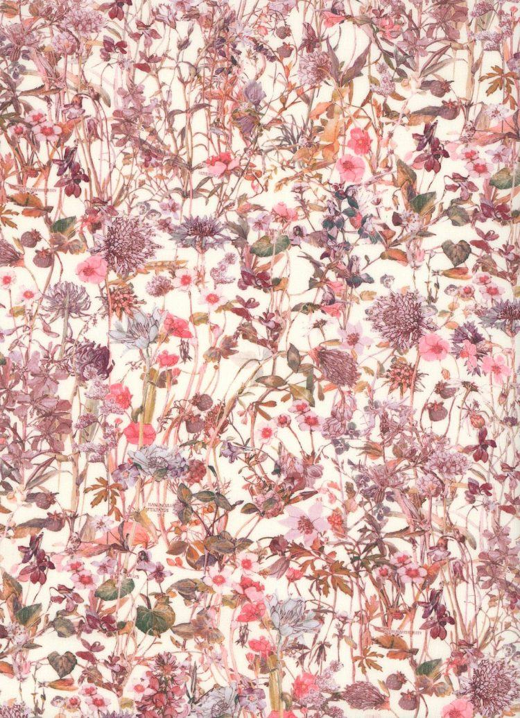Wild Flowers F - Liberty Tana Lawn Bespoke Collection - Liberty of London