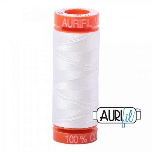 Aurifil Thread 50wt – 2021 Natural White