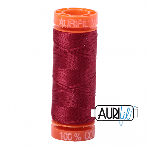 Aurifil Thread 50wt – 1103 Burgandy