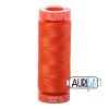 Neon Orange 1104 Aurifil Thread