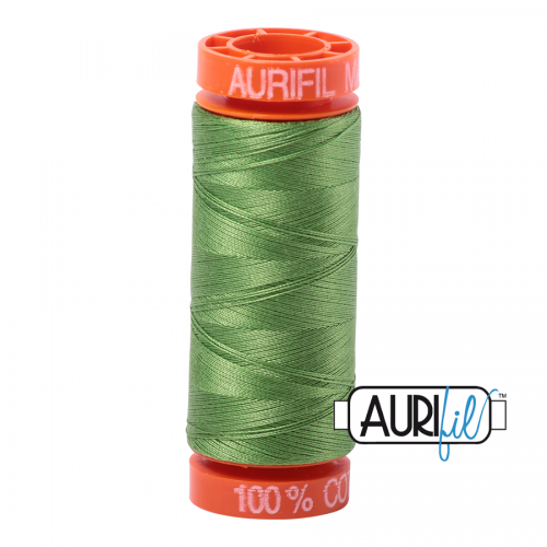 Aurifil Thread 50wt – 1114 Grass Green