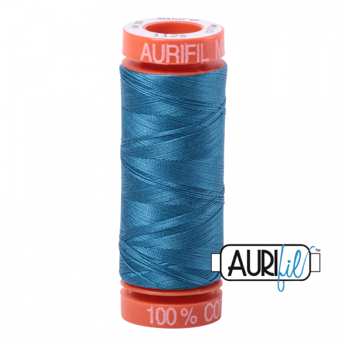 Aurifil Thread 50wt – 1125 Medium Teal