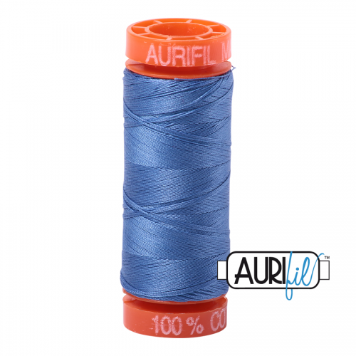 Aurifil Thread 50wt – 1128 Light Blue Violet