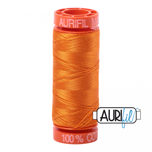Aurifil Thread 50wt – 1133 Bright Orange