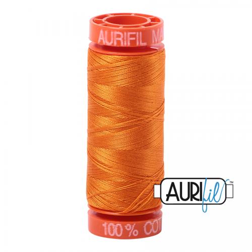 Aurifil Thread 50wt – 1133 Bright Orange