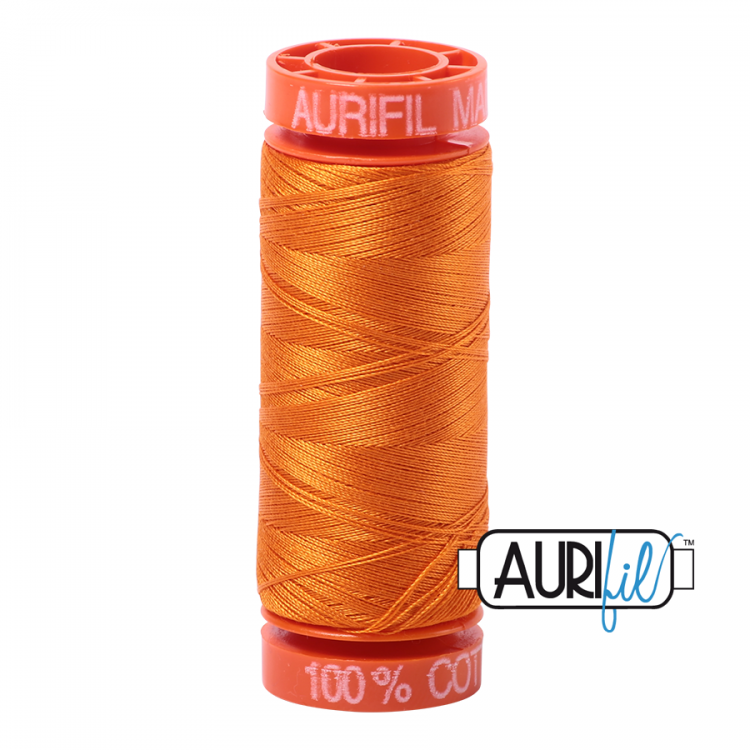 Bright Orange 1133 Aurifil Thread