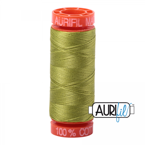 Aurifil Thread 50wt – 1147 Light Leaf Green