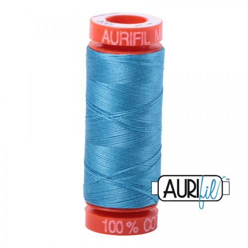 Aurifil Thread 50wt – 1320 Bright Teal