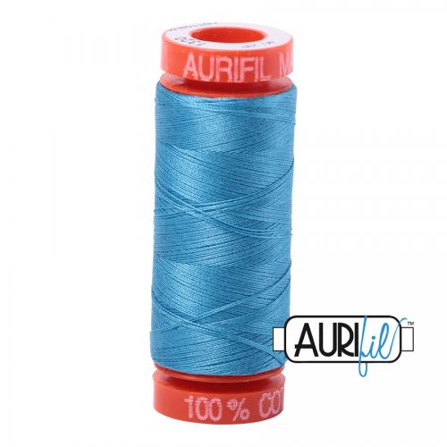 Bright Teal 1320 Aurifil Thread