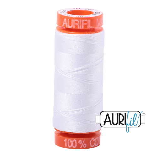 Aurifil Thread 50wt – 2024 White