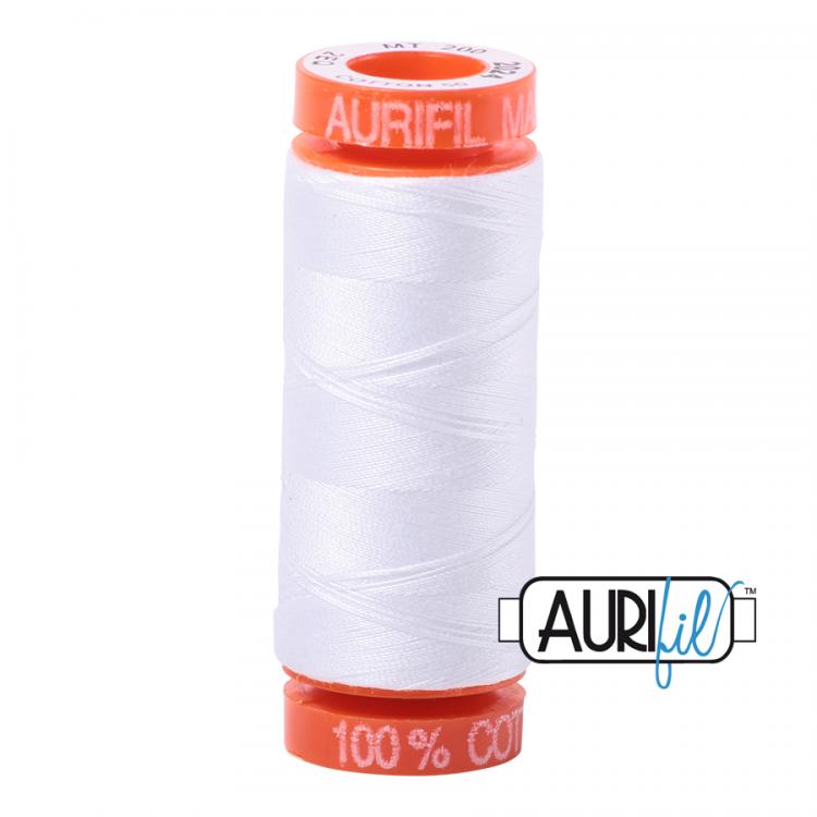 White 2024 Aurifil Thread