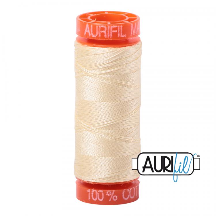Light Lemon 2110 Aurifil Thread