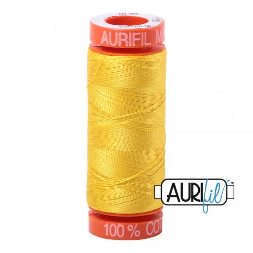 Aurifil Thread 50wt – 2120 Canary