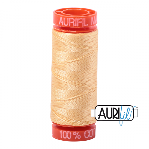 Aurifil Thread 50wt – 2130 Medium Butter