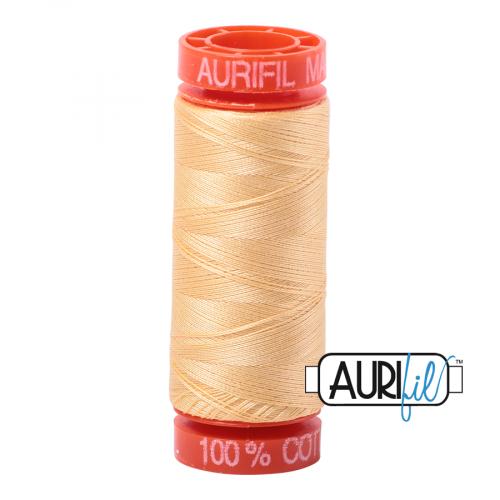Aurifil Thread 50wt – 2130 Medium Butter
