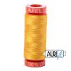 Yellow 2135 Aurifil Thread
