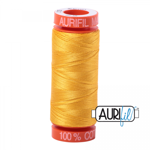 Aurifil Thread 50wt – 2135 Yellow