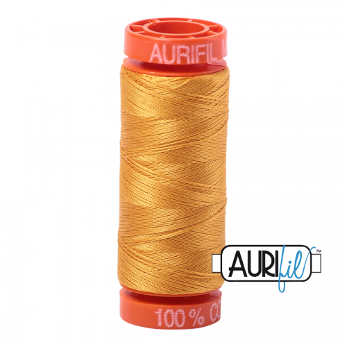Aurifil Thread 50wt – 2145 Yellow Orange