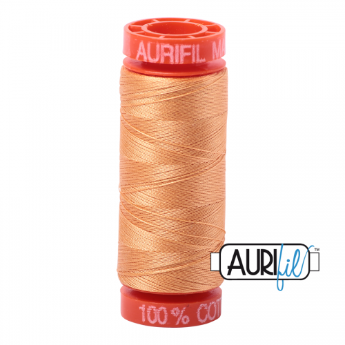 Aurifil Thread 50wt – 2214 Golden Honey