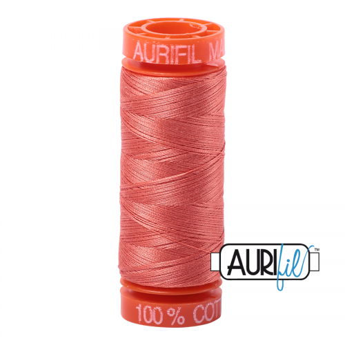 Aurifil Thread 50wt – 2225 Salmon