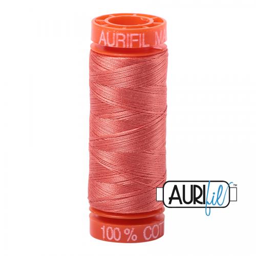 Aurifil Thread 50wt – 2225 Salmon