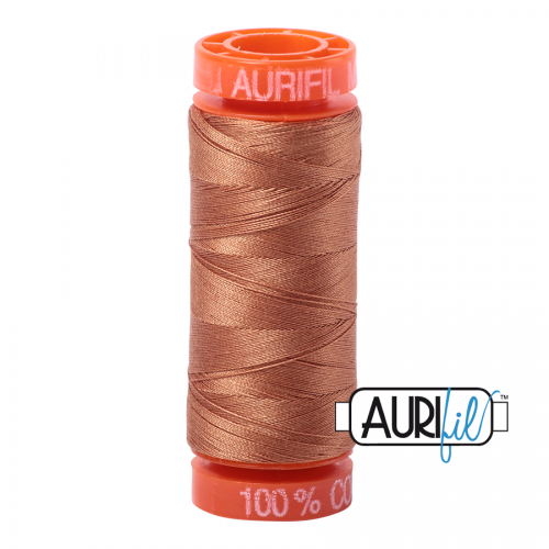 Aurifil Thread 50wt – 2330 Light Chestnut