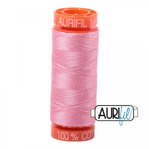 Bright Pink 2425 Aurifil Thread
