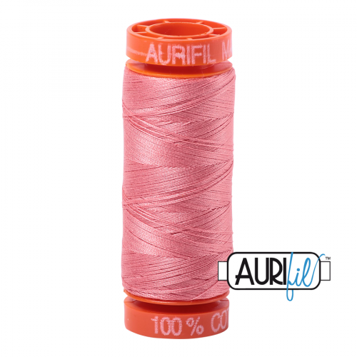Aurifil Thread 50wt – 2435 Peachy Pink