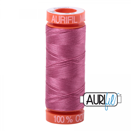 Aurifil Thread 50wt – 2452 Dusty Rose