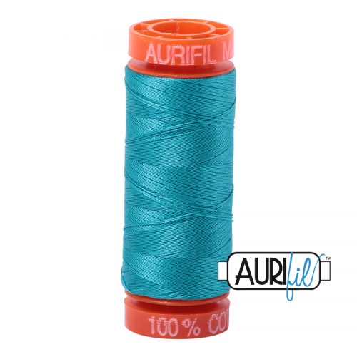 Aurifil Thread 50wt – 2810 Turquoise