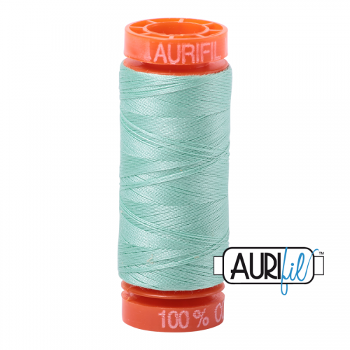 Aurifil Thread 50wt – 2835 Medium Mint