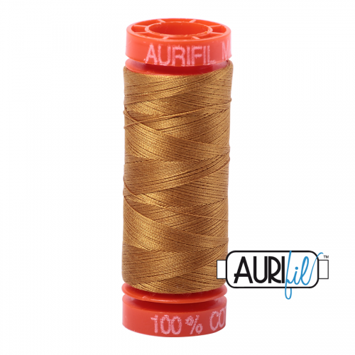 Aurifil Thread 50wt – 2975 Brass