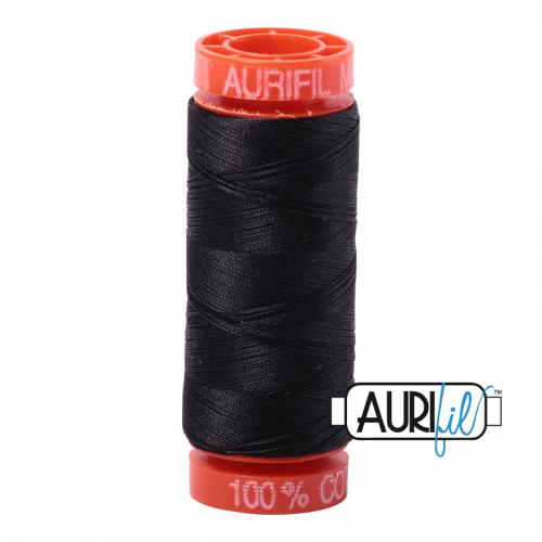 Aurifil Thread 50wt – 4241 Very Dark Grey