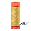 Gold yellow 5015 Aurifil Thread