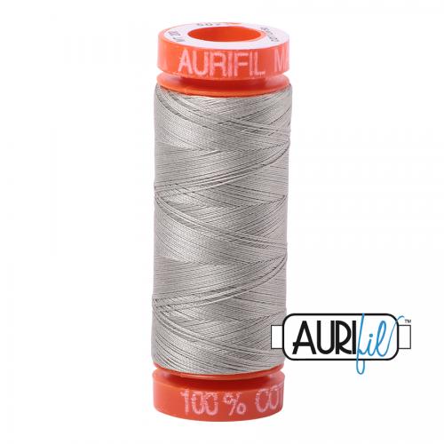 Aurifil Thread 50wt – 5021 Light Grey